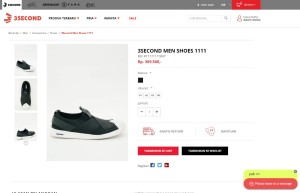 Sepatu 3second